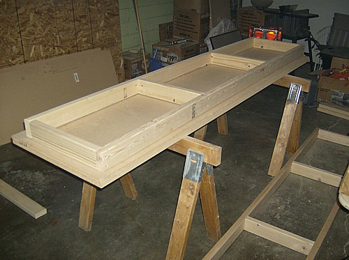 Building a simple but sturdy workbench montana bullets and blades
